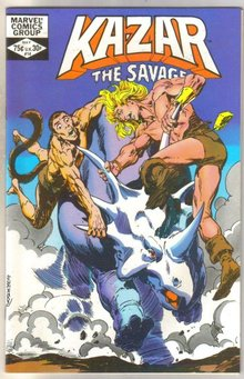 Kazar The Savage #14 comic book mint 9.8