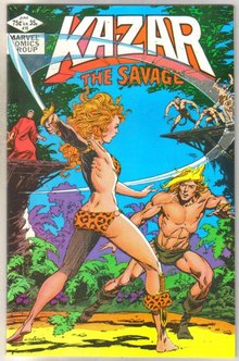 Kazar The Savage #15 comic book near mint 9.4