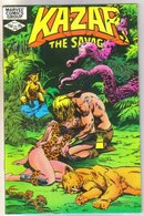 Kazar The Savage #16 comic book mint 9.8