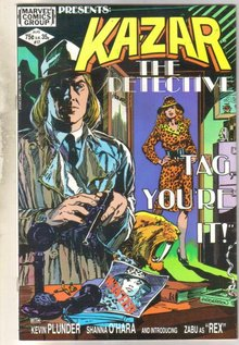 Kazar The Savage #17 comic book near mint 9.4