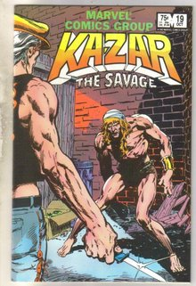 Kazar The Savage #19 comic book near mint 9.4