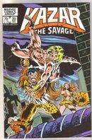 Kazar The Savage #20 comic book near mint 9.4