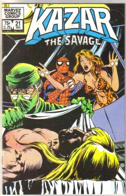 Kazar The Savage #21 comic book near mint 9.4
