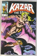 Kazar The Savage #28 comic book mint 9.8