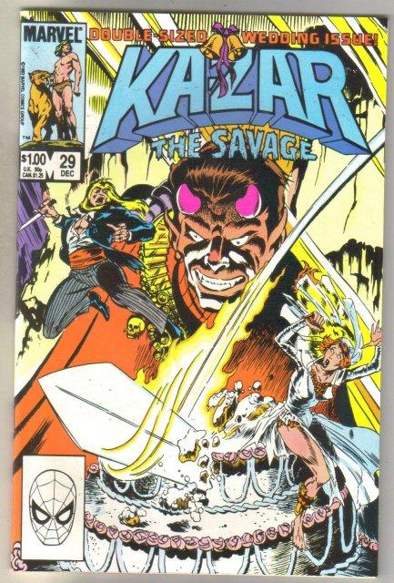 Kazar The Savage #29 comic book mint 9.8