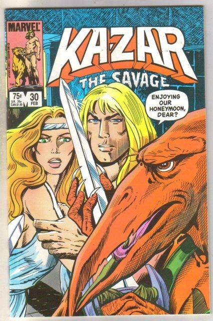 Kazar The Savage #30 comic book mint 9.8