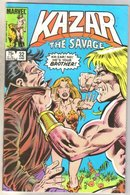 Kazar The Savage #32 comic book mint 9.8