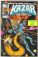 Kazar The Savage #34 comic book mint 9.8