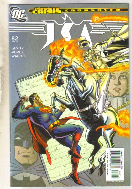 JSA #82 comic book near mint 9.4