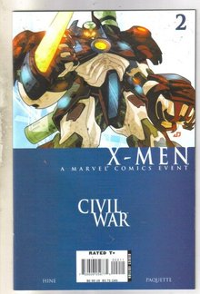 Civil War X-men #2 comic book mint 9.8