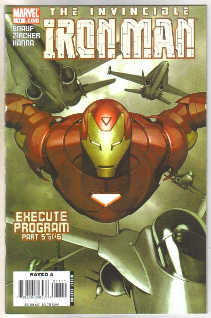 Invincible Iron Man #11 comic book mint 9.8