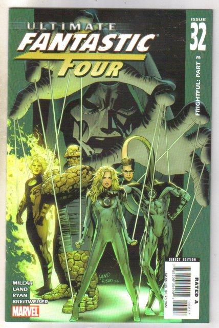 Ultimate Fantastic Four #32 comic book mint 9.8