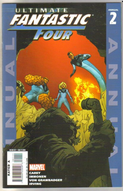 Ultimate Fantastic Four Annual #2 comic book mint 9.8