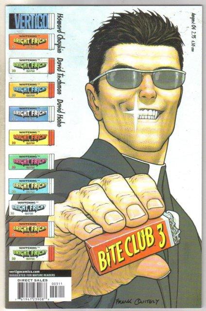 Bite Club #3 comic book near mint 9.4
