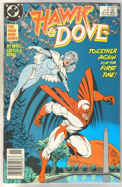 Hawk and the Dove #2 comic book fine 6.0