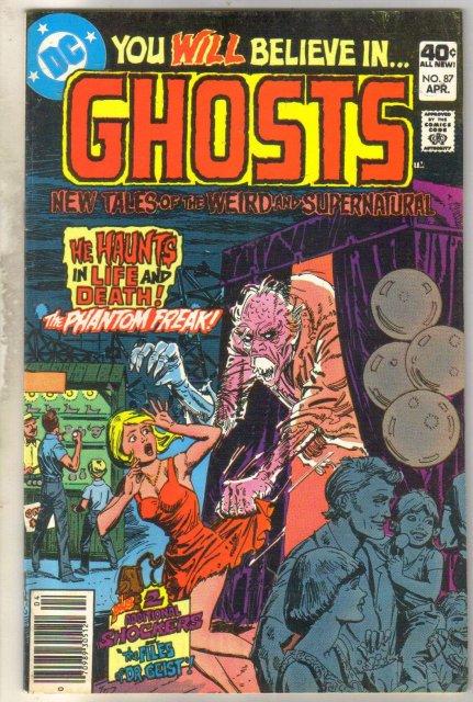 Ghosts #87 comic book very good 4.0