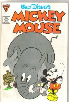 Mickey Mouse #231 comic book fine 6.0