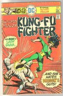 Richard Dragon Kung-Fu Fighter #5 comic book very good 4.0