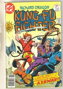 Richard Dragon Kung-Fu Fighter #15 comic book fine 6.0