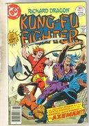 Richard Dragon Kung-Fu Fighter #15 comic book fine 6.0