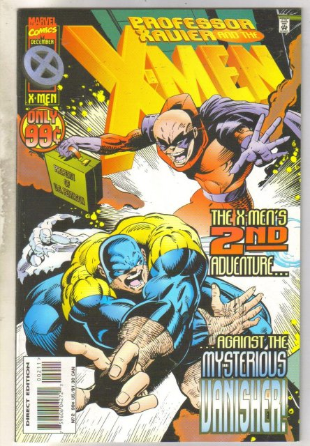 Professor Xavier and the X-men #2 comic book near mint 9.4