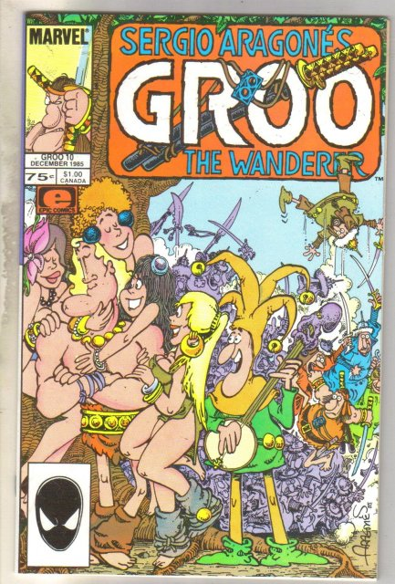 Groo #10 comic book mint 9.8