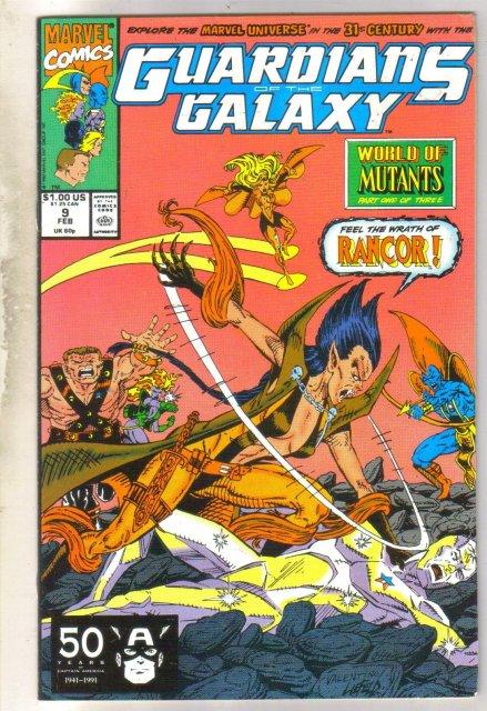Guardians of the Galaxy #9 comic book near mint 9.4