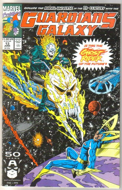 Guardians of the Galaxy #13 comic book near mint 9.4