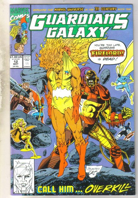 Guardians of the Galaxy #12 comic book near mint 9.4