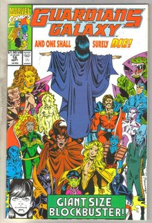 Guardians of the Galaxy #16 comic book near mint 9.4