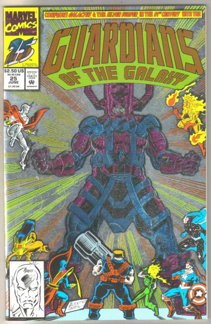 Guardians of the Galaxy #25 comic book mint 9.8