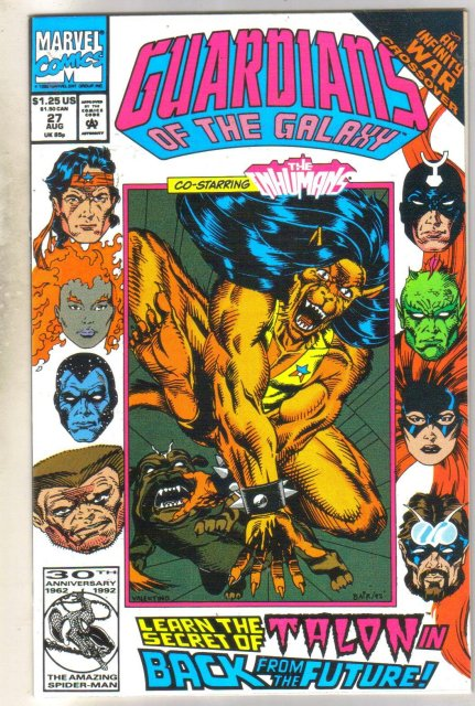 Guardians of the Galaxy #27 comic book mint 9.8