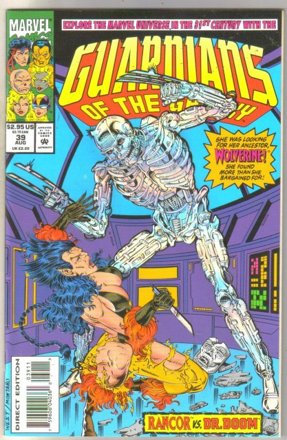 Guardians of the Galaxy #39 comic book mint 9.8