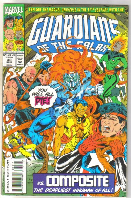 Guardians of the Galaxy #40 comic book mint 9.8