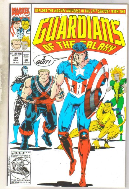 Guardians of the Galaxy #30 comic book near mint 9.4