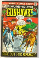 Reno Jones and Kid Cassidy Gunhawks #2 comic book fine/very fine 7.0