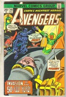 Avengers #140 comic book very good 4.0