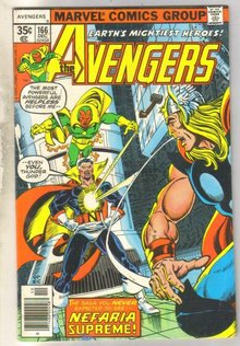 Avengers #166 comic book fine 6.0