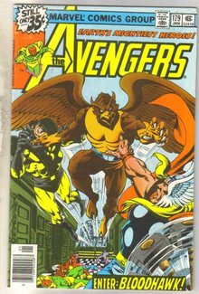 Avengers #179 comic book very fine 8.0