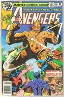 Avengers #180 comic book very fine 8.0