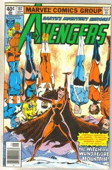 Avengers #187 comic book very fine 8.0
