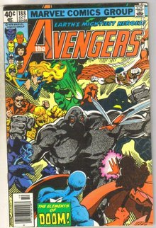 Avengers #188 comic book fine 6.0