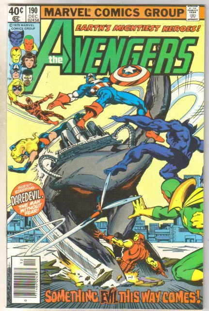 Avengers #190 comic book very fine/near mint 9.0