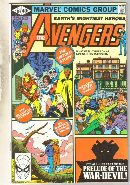 Avengers #197 comic book near mint 9.4