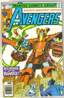 Avengers #198 comic book near mint 9.4