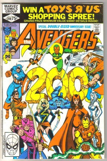 Avengers #200 comic book very fine 8.0
