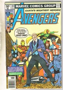 Avengers #201 comic book very fine 8.0