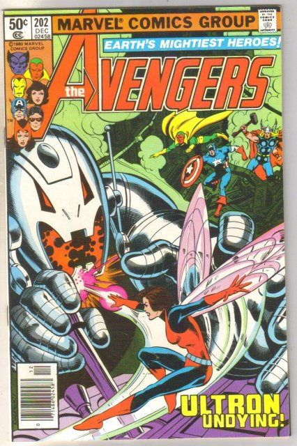 Avengers #202 comic book mint 9.8