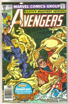 Avengers #203 comic book near mint 9.4