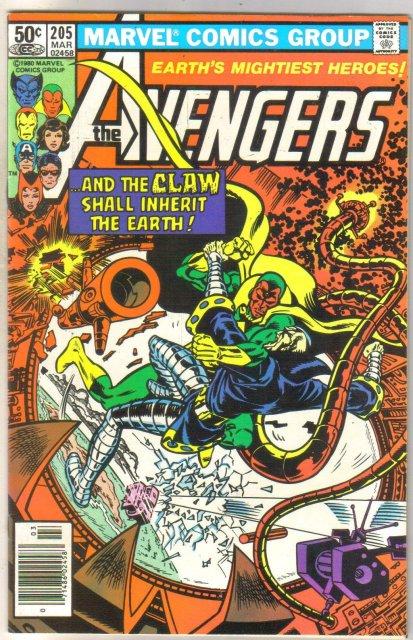 Avengers #205 comic book near mint 9.4